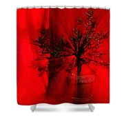 Cabin Fever Dance Shower Curtain
