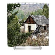 Cabin In Need Of Repair Shower Curtain