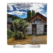 Cabin In The Sagebrush Shower Curtain
