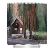 Cabin In The Woods 08 Shower Curtain