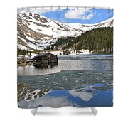 Cabin On Chinns Lake 2 Shower Curtain