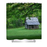 Cabin On The Blue Ridge Parkway - 1 Shower Curtain