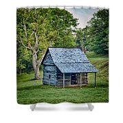 Cabin On The Blue Ridge Parkway - 10 Shower Curtain