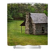 Cabin On The Blue Ridge Parkway - 4 Shower Curtain