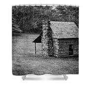 Cabin On The Blue Ridge Parkway - 5 Shower Curtain
