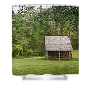 Cabin On The Blue Ridge Parkway - 6 Shower Curtain