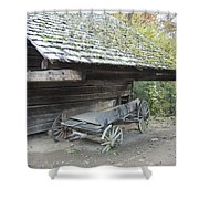 Cable Mill Barn Shower Curtain