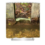 Cable Mill Flume 1 A Shower Curtain