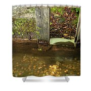 Cable Mill Flume 1 B Shower Curtain