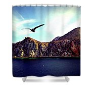 Cabo And The Cliffs Shower Curtain