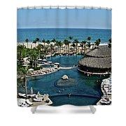 Cabo Azul Shower Curtain
