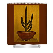 Cabo Cactus Shower Curtain