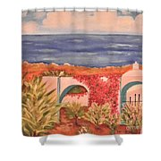 Cabo Garden Shower Curtain