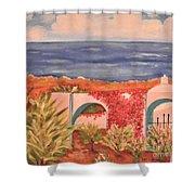 Cabo Garden Shower Curtain