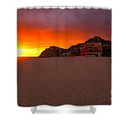 Cabo Sunset Shower Curtain