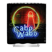 Cabo Wabo Shower Curtain