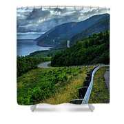 Cabot Trail Shower Curtain