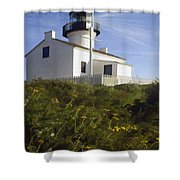 Cabrillo Lighthouse Shower Curtain