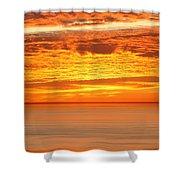 Cabrillo Sunset Shower Curtain
