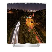 Cabrillo To Downtown Shower Curtain