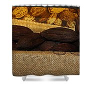 Cacao Pods Shower Curtain