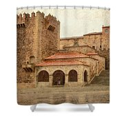 Caceres Spain Shower Curtain