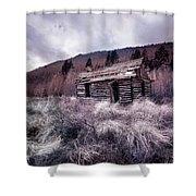 Cache Cabin Shower Curtain