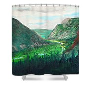 Cache Le Pudre Valley Shower Curtain