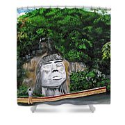 Cacique Mabodomaca Shower Curtain