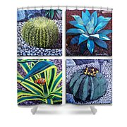 Cactus Close Ups Shower Curtain