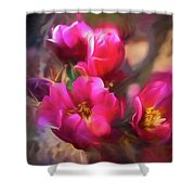 Cactus Flower 07-002 Shower Curtain