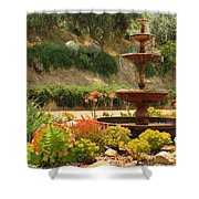 Cactus Fountain Shower Curtain