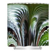 Cactus Predator Shower Curtain
