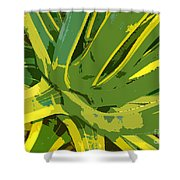 Cactus Work Number 2 Shower Curtain
