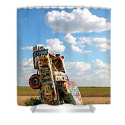 Caddies N Clouds One Shower Curtain