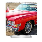 Caddy Shower Curtain