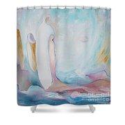 Cadeau De La Vie  Shower Curtain