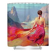 Cadence Shower Curtain