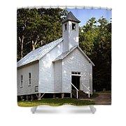 Cades Cove Baptist Church Shower Curtain