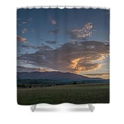 Cades Cove - Great Smoky Mountains National Park Shower Curtain