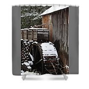 Cades Cove Mill I Shower Curtain