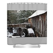 Cades Cove Mill II Shower Curtain