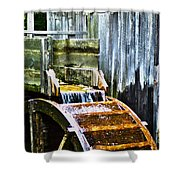 Cades Cove Mill No 3 Shower Curtain