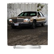 Cadillac Shower Curtain