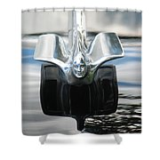 Cadillac Angel Shower Curtain
