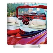 Cadillac Convertible -  A Car Class  Shower Curtain
