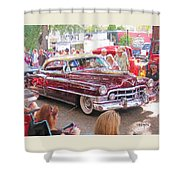 Cadillac Coupe Deville Shower Curtain