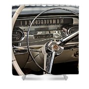 Cadillac Dash Shower Curtain