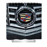 Cadillac Grill Shower Curtain