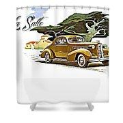 Cadillac Lasalle Shower Curtain